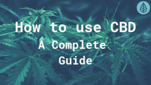 How to use CBD - A complete guide 2019